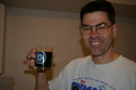 Rich checking the stout