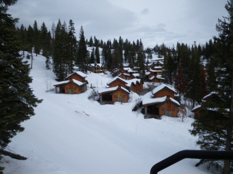 cottages from lift