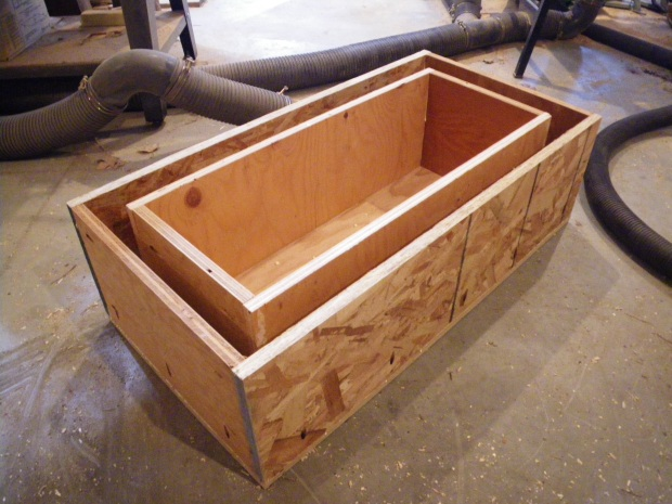 Diy wood cooler cart uttermost35huw Build your own toy chest