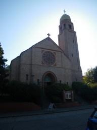 Outside St. Johns