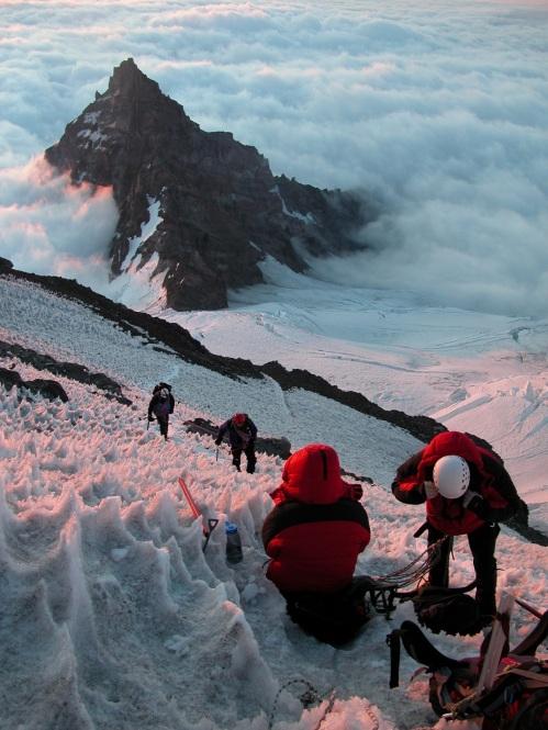above little tahoma peak
