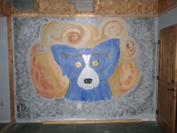 dog room van gogh