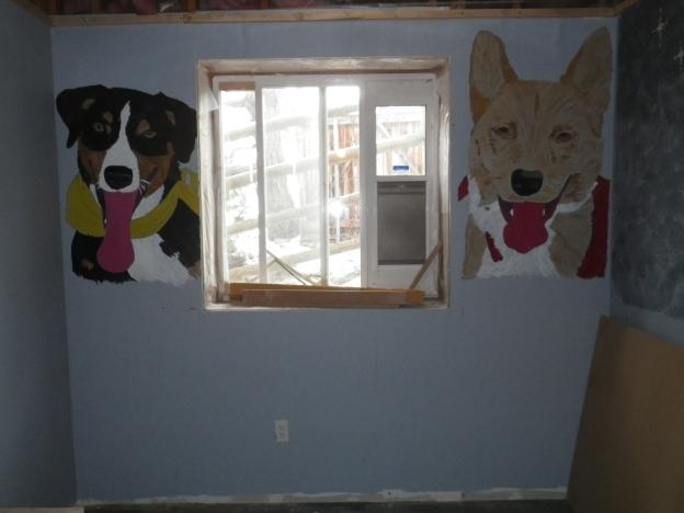 dog room window