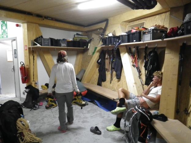 19 gear room