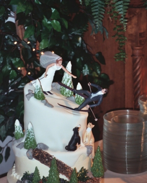 Our wedding cake