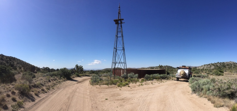 The Mojave Windmill