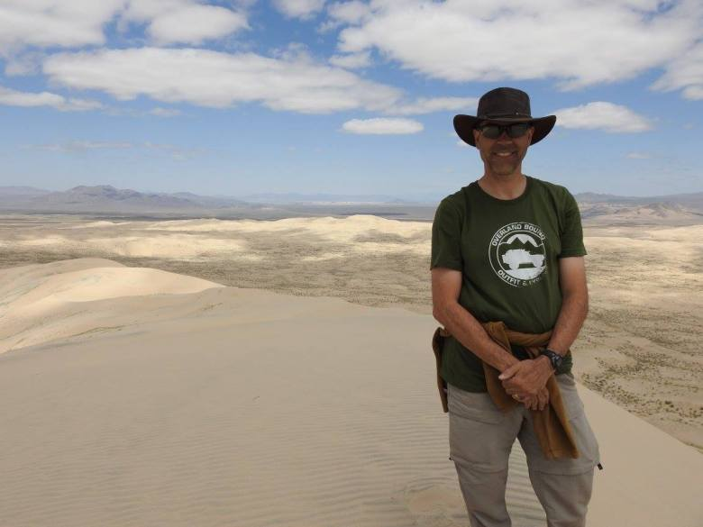 me on kelso dune