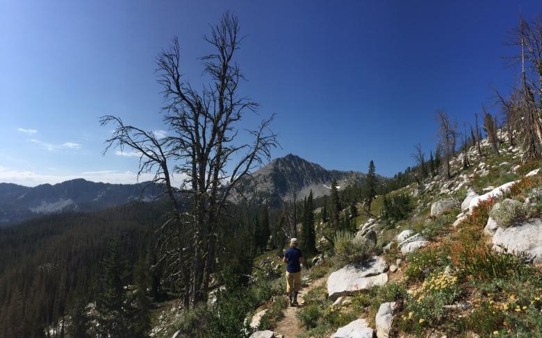 Trinity Lake hike 7