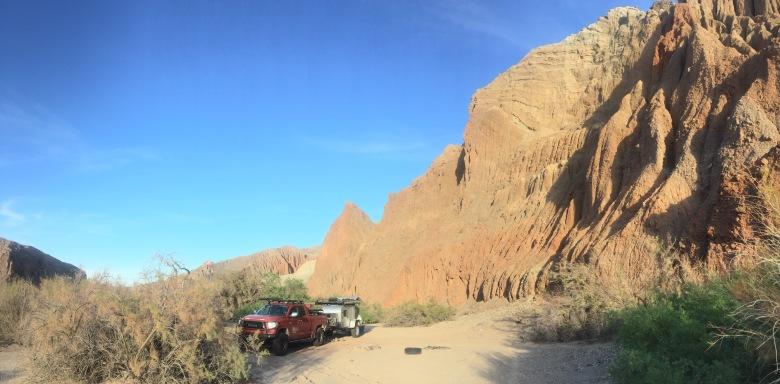 Afton Canyon Campsite