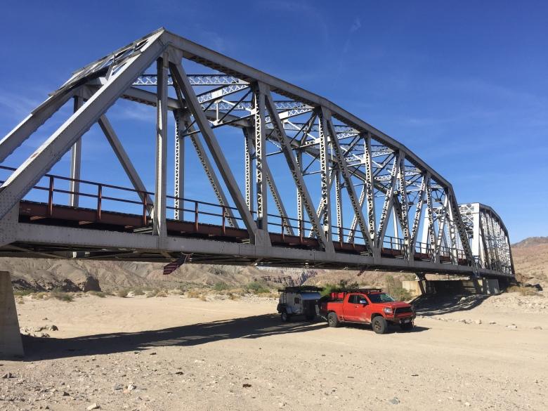 Trestle bridge, passing under 1